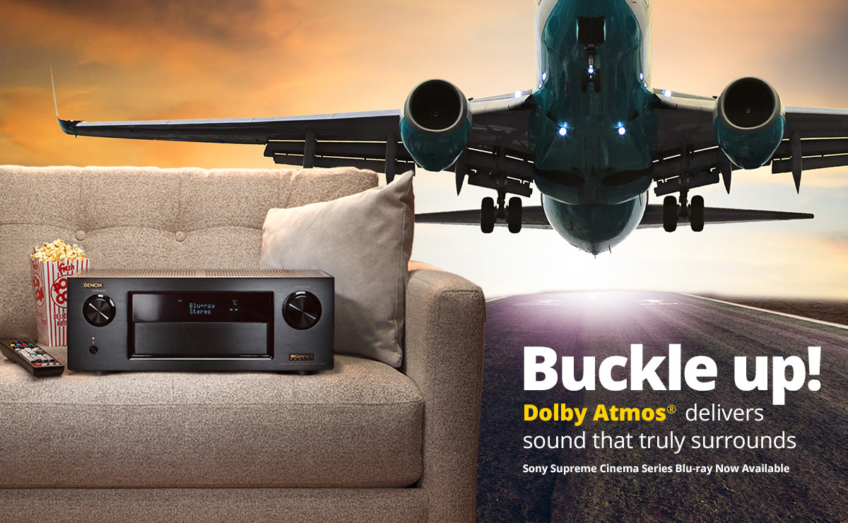 Dolby Atmos Surround Sound